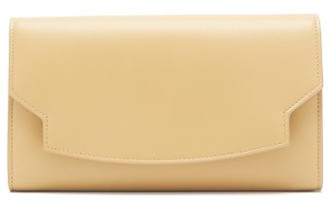 The Row Lady Leather Wallet - Womens - Light Yellow