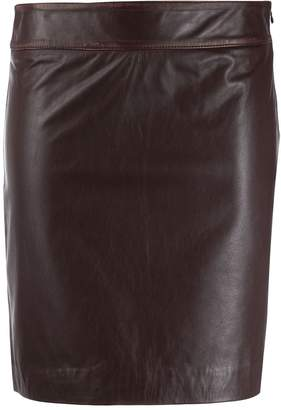 L'Autre Chose fitted short skirt