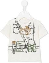 Stella McCartney explorer print Chuckle T-shirt