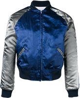 Comme des Garcons two-tone bomber jacket