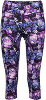 Yummie by Heather Thomson Candace cropped printed stretch-cotton leggings