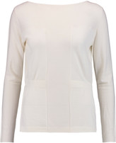 Pringle Merino wool, cashmere and silk-blend sweater