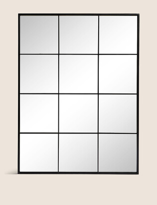 Marks and Spencer Simple Window Pane Mirror