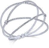 INC International Concepts Pavé Flex Cuff Bracelet, Created for Macy's