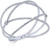 INC International Concepts Pavé Flex Cuff Bracelet, Only at Macy's