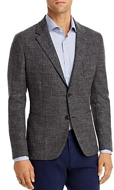 Dylan Gray Cotton-Blend Tweed Classic Fit Sportcoat - 100% Exclusive