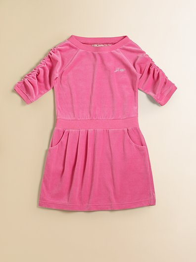 Juicy Couture Toddler's & Little Girl's Velour Dress