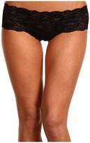 Cosabella Never Say Never Hottie Lowrider Hotpants (Black) Women's Underwear
