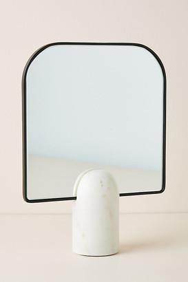 Anthropologie Pandora Tabletop Vanity Mirror By in Black Size XS