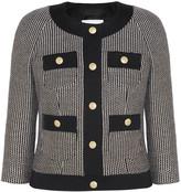 Pierre Balmain Cotton-blend tweed jacket