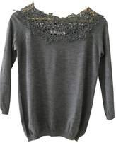 Christian Dior Grey Wool Knitwear