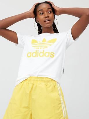 adidas Trefoil T-Shirt - White