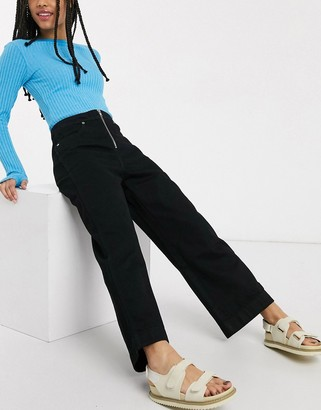 Weekday Vida denim jeans in black