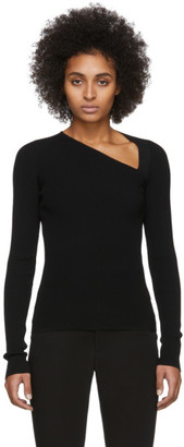 Helmut Lang Black Raglan Pullover