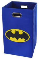 Modern Littles Batman Logo Folding Laundry Hamper