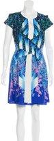 Peter Pilotto Printed Mini Dress w/ Tags
