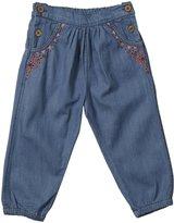 Purebaby Fiesta Chambray Pants (Baby) - Chambray-18-24 Months