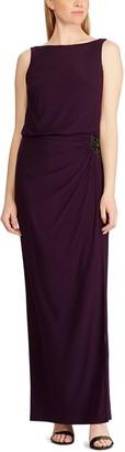 Chaps Women's Sleeveless Evening Gown