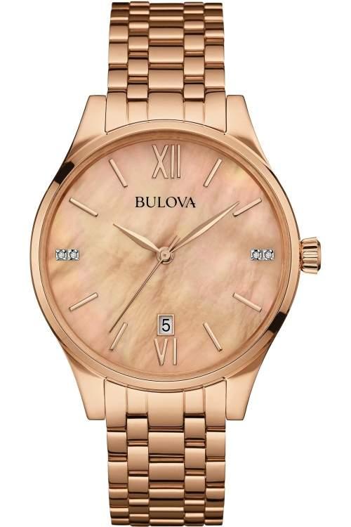 Bulova Ladies Diamond Gallery Watch 97S113