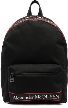 Alexander McQueen Metropolitan Backpack Canvas