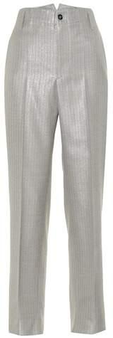 Golden Goose Pinstriped wool-blend pants