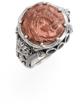Konstantino Women's 'Aeolous' Greek Coin Ring