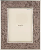 "Barneys New York Croc-Embossed 5"" x 7"" Picture Frame"