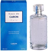 Caron Eaux De Pure Cologne by for Men. Eau De Toilette Spray 3.3 Oz / 100 Ml.