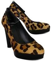Stuart Weitzman Leopard Platform heels
