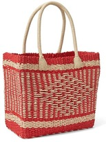 Gap Diamond weave tote