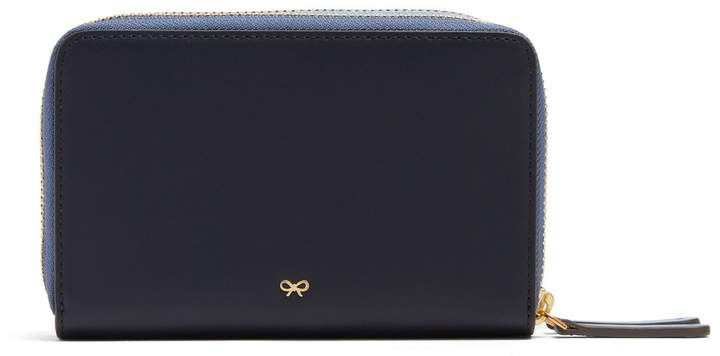 Anya Hindmarch Stack double zip-around leather wallet