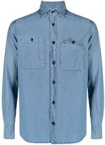 Thumbnail for your product : Glanshirt Button-Up Denim Shirt