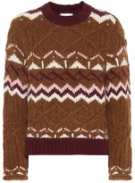 See by Chloe Fair Isle alpaca-blend sweater