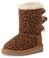 UGG Toddler Bailey Leopard-Print Boot, Chestnut