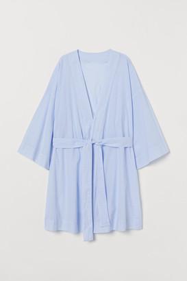 H&M Cotton Poplin Robe
