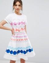 Ted Baker Myley Mosaic Print Dress