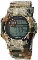 Diadora Men's Watch Digital Quartz Plastic di 017 04