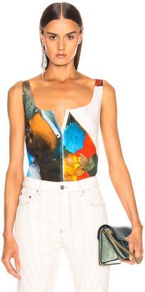 Thierry Mugler Abstract Top in Multi | FWRD