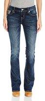 Miss Me Women's Studded Back Yoke Boot Cut Jean
