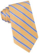 MICHAEL Michael Kors Houndstooth Striped Silk Tie