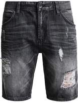 Tom Tailor Denim Denim Shorts Dark Stone Black Denim