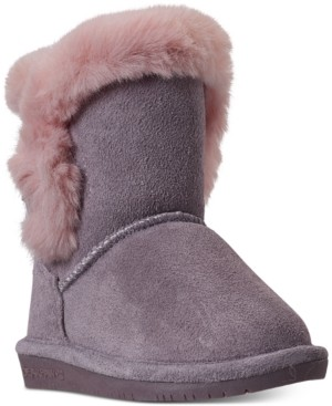 BearPaw Toddler Girls Betsey Winter Boots from Finish Line