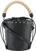 J.W.Anderson studded bucket bag - women - Leather - One Size