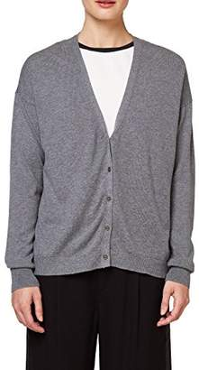 Esprit edc by Women's 078cc1i004 Cardigan, Dark Grey 5 024, Medium