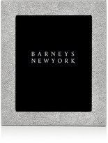 "Barneys New York Shagreen-Effect Studio 8"" x 10"" Picture Frame-WHITE"