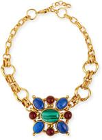 Jose & Maria Barrera Short Chain Link Ornament Necklace