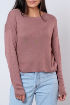 Noisy May O-Neck Cropped Pullover