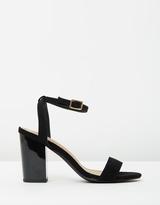 Spurr Paisley Block Heels