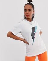 Converse Pride Lightening Bolt White T-Shirt