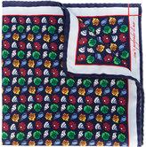 fe-fe seashell print pocket square